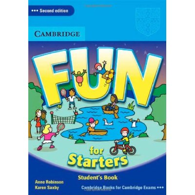 Starters:  Fun for Starters. Anne Robinson y Karen Saxby. Cambridge.  ISBN: 9780521748605